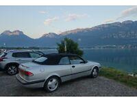 1996 Saab 900se convertible £400