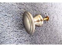 Solid Brushed Satin Nickel Door / Drawer Knobs