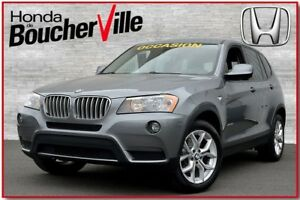 2013 BMW X3 xDrive28i AWD Cuir Camera Bluetooth
