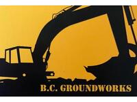 B.C Groundwork's drive ways and all types of groundwork carried out in Sheffield and Derbyshire
