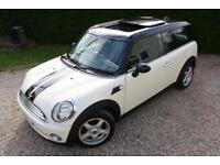 MINI COPPER 1.6 2008 CLUBMAN PAN ROOF FULL LEATHER ONLY DONE 89k
