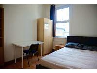 double bedroom in Hackney wick, Homerton. Available now. 2 weeks deposit only.