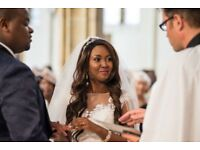 Experienced wedding photographer- Asian, African, English wedding photography