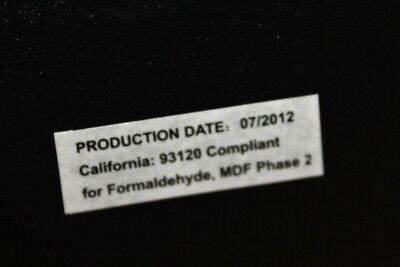 CALIFORNIA 93120 COMPLIANT For FORMALDEHYDE PHASE 2 -01/2012 - $7.95