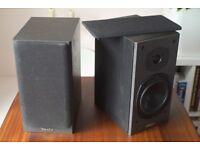 Stereo speakers: Tannoy Mercury M2