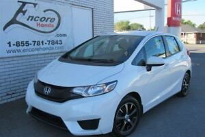 2015 Honda Fit LX/JAMAIS ACCIDENTÉ/