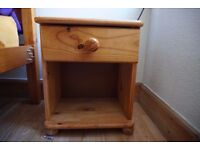 Small wooden night table