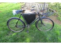 CYCLE BIKE TRADE MANS HOPPER VINTAGE BEDFORD ANTIQUE IDEAL ADVERT SHOP BAKER BUTCHER
