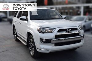 2016 Toyota 4Runner LIMITED 4WD, LEATHER, SUNROOF, NAVIGATION