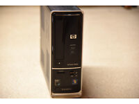 HP Slimline AMD Athlon quad core desktop PC with Blu ray drive, card reader, HD sound
