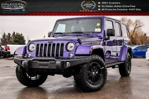 2017 Jeep WRANGLER UNLIMITED Sahara|4x4|Dual Top|Navi|Bluetooth|