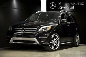 2014 Mercedes-Benz M-Class ML550 4MATIC, Mags 21 pouces, Banc ve