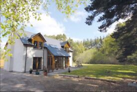 Beautiful detached 4 bedroom home in Cairngorm National Park -relisted as buyers failed to complete