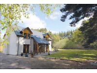 Beautiful detached 4 bedroom home in Cairngorm National Park