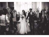Suzanne Neville Savoy Wedding Dress - Size 8