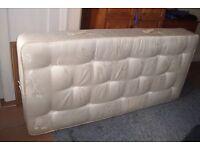myers single mattress, 8 inches deep.