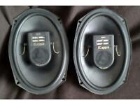 Infinity Kappa Series 693 Mk II 6x9 With 3 Way Tweeters Parcel Shelf 100W