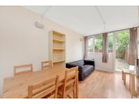 4 BEDROOM 2 BATHROOM MAISONETTE WITH A PRIVATE GARDEN - SW8 - OVAL/STOCKWELL-FURNISHED
