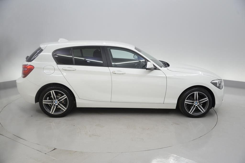 2011 BMW 1 series 2.0 5 door diesel White Low Miles