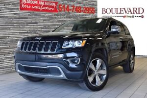 2015 Jeep Grand Cherokee LIMITED VUS GRP REMORQ 4X4 TOIT