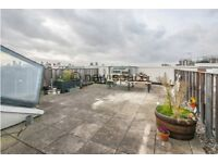 LARGE 2BED 2BATH PENTHOUSE FLAT IN HEART OF HAGERSTON**ROOF TERRACE**FURNISHED**WATER BILLS INCLUDED