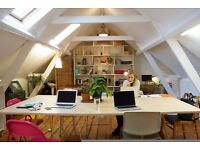 Available desks at beautiful and cosy co-working space in Stepney Green/Whitechapel E1