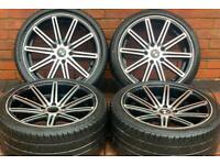 """BMW 3 Series 18"""" M Sport Concave Staggered Alloy Wheels 5x120 E46/E90/E91/E92/E93/F30/F32"""