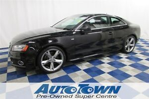2011 Audi A5 2.0T S-LINE/LEATHER INTERIOR/KEYLESS ENTRY/HEATED
