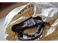 Diesel Leather Handbag Supersoft Unusual Oversized Shoulder Bag Immaculate with Dust Cover.