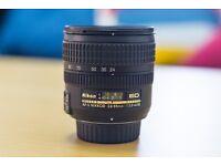 Nikon Nikkor AF-S Zoom lens - 24 mm - 85 mm - F/3.5-4.5 lens for sale