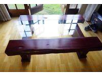 Beautiful Oak sleeper Coffee Table