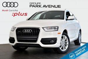 2015 Audi Q3 2.0 TFSI TECHNIK NAVIGATION+TOIT PANO !