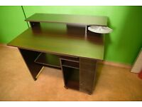 Solid Wood Computer Desk - For Home Or Office - Very Good Condition