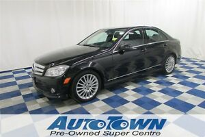 2010 Mercedes-Benz C-Class C250 AWD/SUNROOF/LEATHER INT