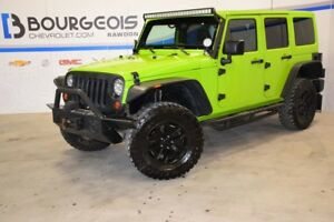 2013 Jeep Wrangler Unlimited 4 dr Rubicon *** CUIR, NAVIGATION *