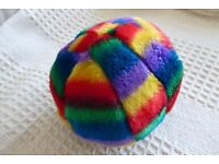NEW Brightly Coloured Soft Squeaky Dog Toy, Histon