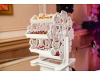 HIRE ONLY: Wedding / Party / Baby Shower - Sweetie Ferris Wheel, Pick N Mix and lollipops to Hire
