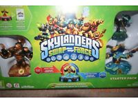 SKYLANDERS SWAP FORCE STARTER PACK COMPLETE WITH BOX FOR WII