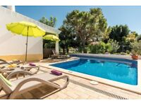 Villa Holiday in Sunny Algarve with private pool. 25th August onwards ££ per night -reduced**