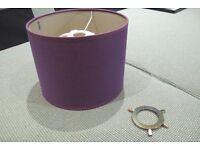 Purple abat jour