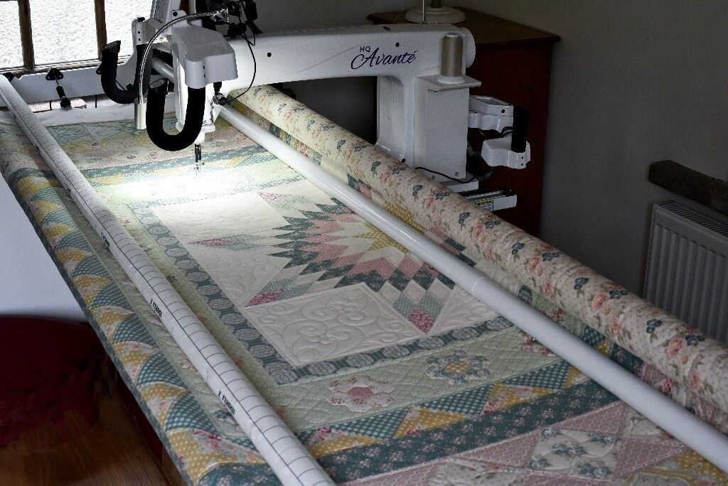 HQ Avante Longarm Quilting machine with Pro Stitcher Premium computer
