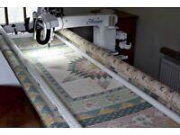HQ Avante Longarm Quilting machine with Pro Stitcher Premium computer