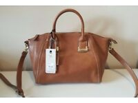 Brand New with Tags: Fiorelli Winged Tote Handbag (Tan) REDUCED