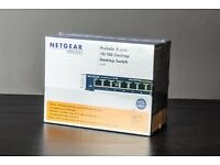 NETGEAR FS108-300UKS ProSAFE 8 port Fast Ethernet 10/100