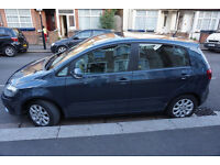 Volkswagen GOLF PLUS, Low Price, Low Mileage, Excellent Mechanically, Some dents and Scratches