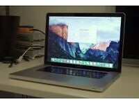 Macbook Pro 15-inch, Late 2008 vs10.11.6 4GB Ram 2.4 GHz Intel Core 2 Duo