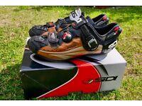 SIDI Dragon 3 Carbon SRS MTB Cycling Shoes (Black / Bronze) EUR 45 UK 10