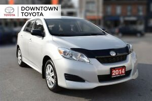 2014 Toyota Matrix CONVENIENCE PKG, 1 OWNER, NO ACCIDENT