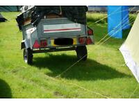 Camping Trailer - Erde 102 - high sided - road legal ready
