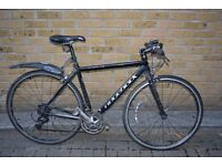 "Ridgeback 24 gear hybrid bike.Carbon forks.56cm frame (medium 5'5""-6'2"""